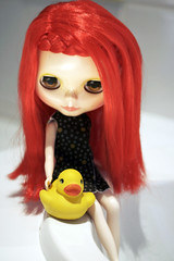 Sparrow and rubberduckie ...