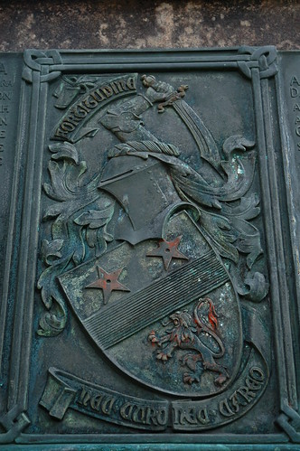 Coat of Arms Plaque detail located