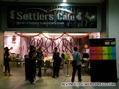 Settler's Cafe in SMU