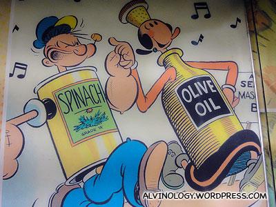 Popeye and Olive!