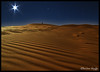 Moonlight Shadow ! (Bashar Shglila) Tags: shadow moon sahara stars star alone desert moonlight libya artofimages saariysqualitypictures bestcapturesaoi ☆thepowerofnow☆
