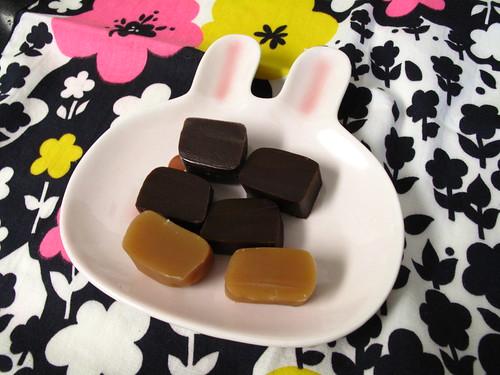 Caramels.