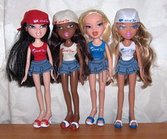 Bratz World Tour (Bratz UK) Tags: world tour jade sasha yasmin bratz cloe