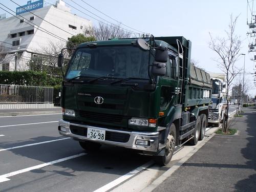 Japanese dump truck