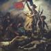 De Vrijheid voert het Volk aan van Eugene Delacroix