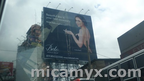 Cristine Reyes Belo Medical Group Billboard