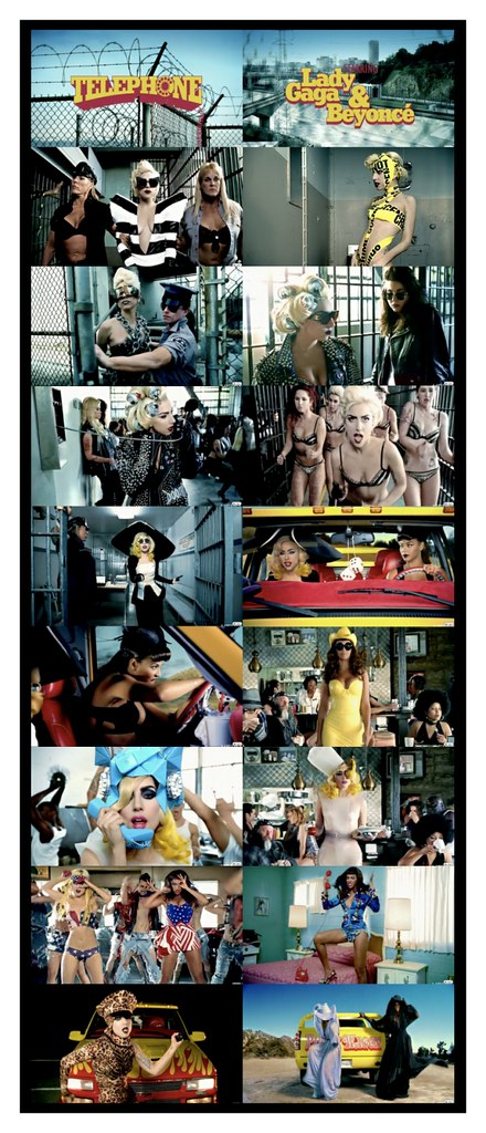 FASHION CREDITS - TELEPHONE BY LADY GAGA FEATURING BEYONCE !!!!!!