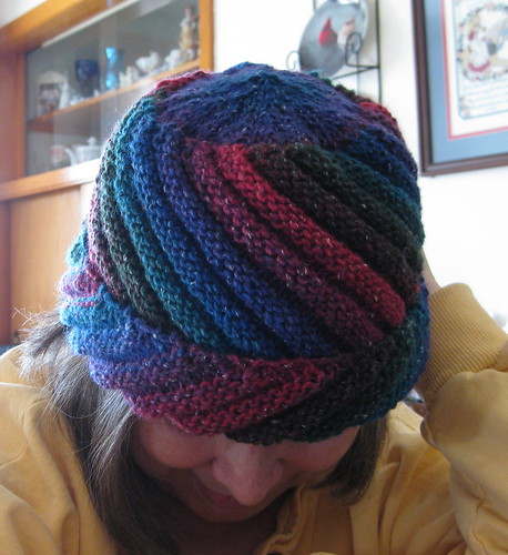 Bias Ridged Hat