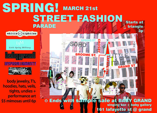 guerilla parade march 21st
