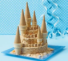 Sand Castle Cake (Courtesy Family Fun)
