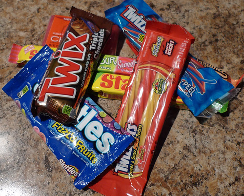 8 hrs., 3 states, 6 stops new candy found