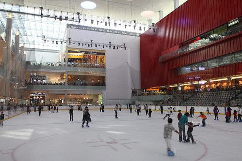 Dubai Mall Ice Rink