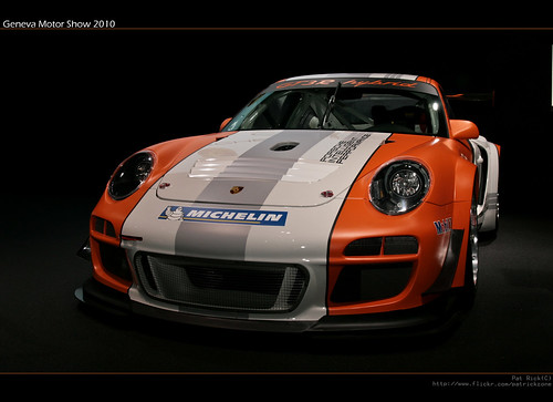 Geneva Motor Show 2010 - Porsche GT3R hybrid