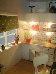 Polly Line's new Lundby kitchen 6