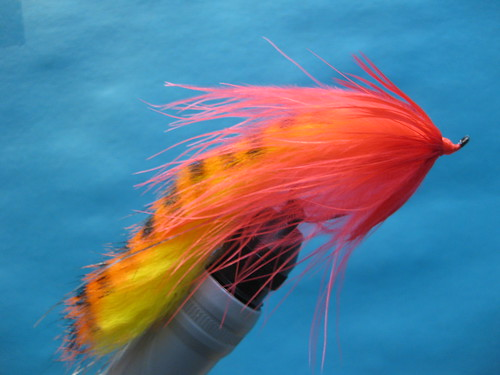 Fly tying strips spawn