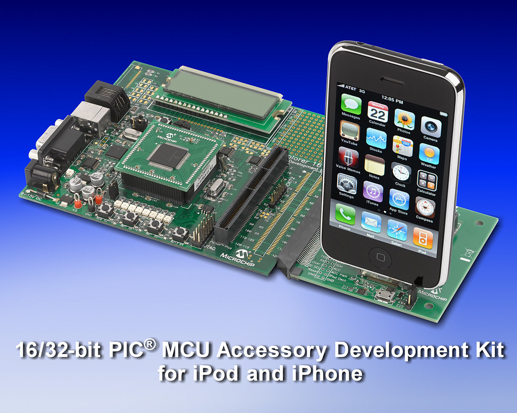 16/32-bit PIC® MCU Accessory Development Kit for iPod and iPhone