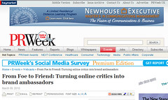 Quicken Loans customer service featured in PRWeek webinar: From Foe to Friend - Turning online critics into brand ambassadors