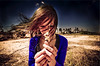 Teen Dream (Cody Bralts) Tags: sun flower cute art girl outside march spring michelle egypt teen cairo adobe indie hip giza d90