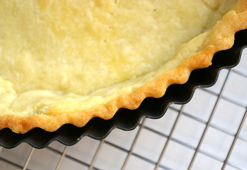"""Unshrinkable"" tart shell"