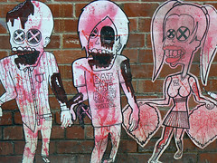 zombie dancers