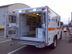 American ambulance car