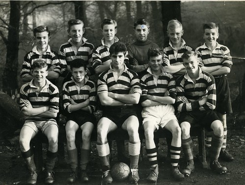 Whitehill School Football Team 1954