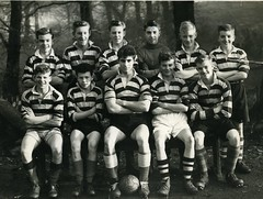 Image titled Whitehill School Football Team 1954