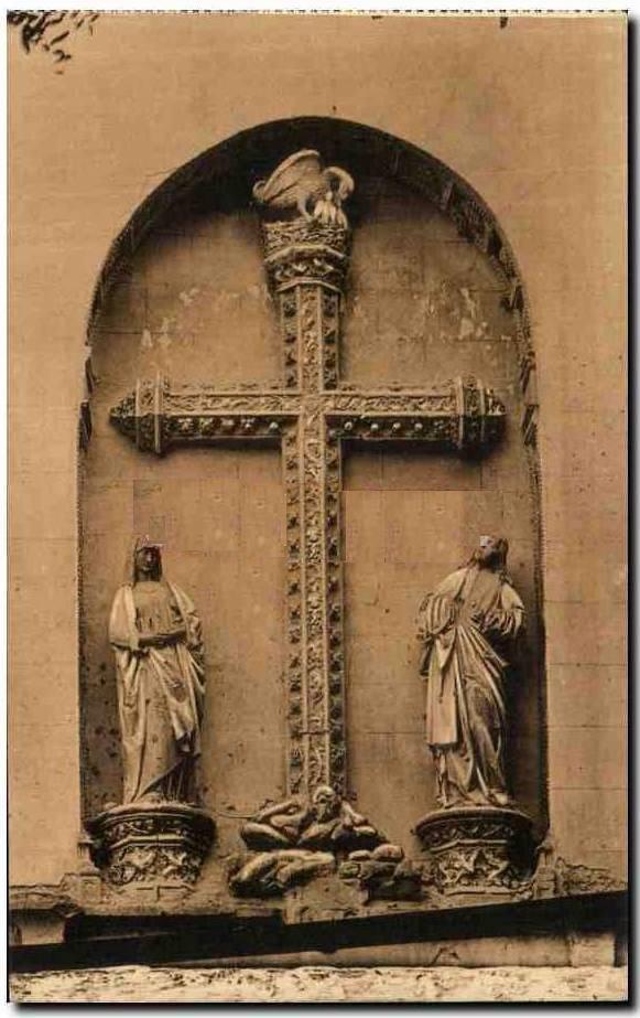 Puerta del Pelícano en San Juan de los Reyes en el siglo XIX
