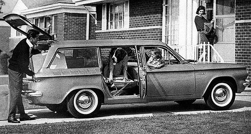 1961 Corvair Lakewood Station Wagon