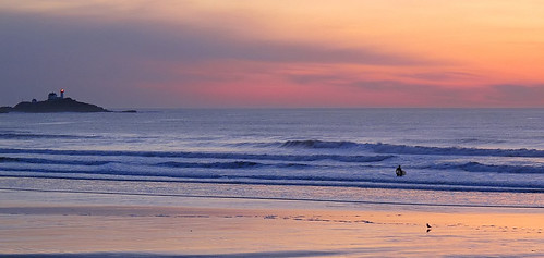 Nubble at sunrise