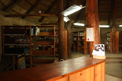 View of Lubuto library stacks (Lubuto Library Partners) Tags: africa youth children reading education aids library libraries books orphans streetchildren zambia hivaids literacy streetkid ovc fountainofhope lubuto