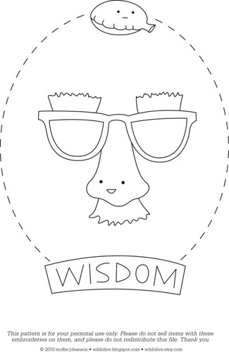 Wisdom - a free pattern