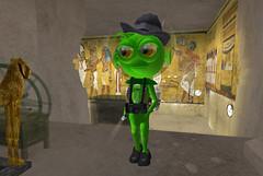 greenie in tut's tomb (hopscotch-uemeu) Tags: greenie rezzable heritagekey