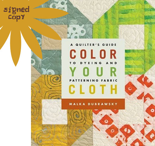 Color Your Cloth by Malka Dubrawsky