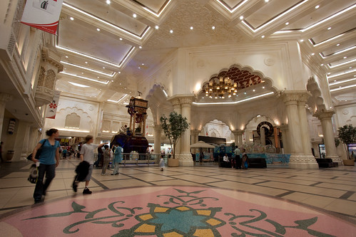India Court Dubai Ibn Battuta Mall