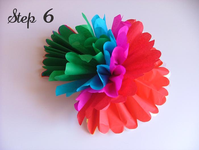 tutorial floral pompons 07