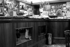 break-fast (Donato Buccella / sibemolle) Tags: street blackandwhite bw italy reflection breakfast bar milano streetphotography sagostino canon400d sibemolle fotografiastradale barbacco