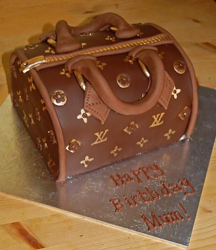 Swell Louis Vuitton Handbag Cake Beautiful Birthday Cakes Funny Birthday Cards Online Alyptdamsfinfo