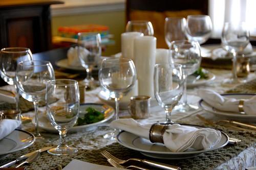 christian seder table