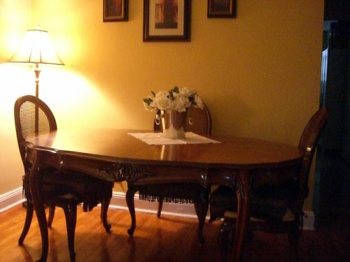 Antique Table w/Chairs