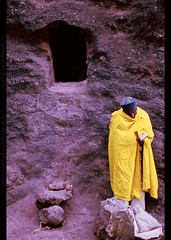 ETHIOPIA (BoazImages) Tags: africa morning prayer documentary bible cave priest christianity ethiopia orthodox lalibela orthodoxchurch boazimages reigous