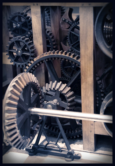 Detail - Weaving machine