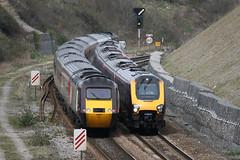 Cross Country Trains (weirdoldhattie) Tags: train bristol railway cutting voyager signal hst lockleaze