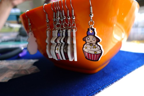 Earrings in Progress!