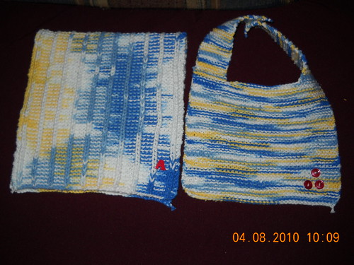 Bib and burp cloth