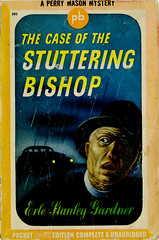 Perry Mason_Stuttering Bishop_1943_tatteredandlost (T and L basement) Tags: ephemera 1943 perrymason vintagepaperback earlstanleygardner pocketbooksinc