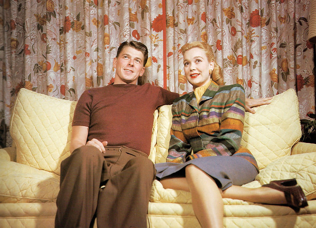 Jane Wyman & Ronald Reagan