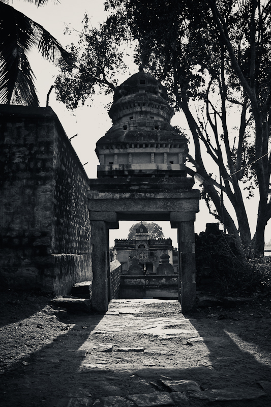 One o the many entranceways - Melukote, Chitra Aiyer Photography