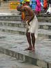 Tying Langoti 1.2 Varanasi (amiableguyforyou) Tags: india men up river underwear varanasi bathing dhoti oldmen ganges banaras benaras suriya uttarpradesh ritualbath hindus panche bathingghats ritualbathing langoti dhotar langota