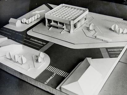 Проект музея космонавтики